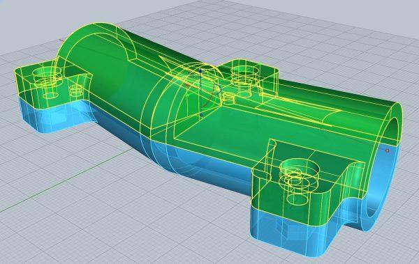 Rétro-conception d'une pièce technique par modélisation 3D Clermont-Ferrand, Puy-de-dôme