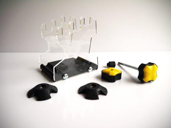 composants du dévidoir pour bobines 3D, support bobines impression 3D