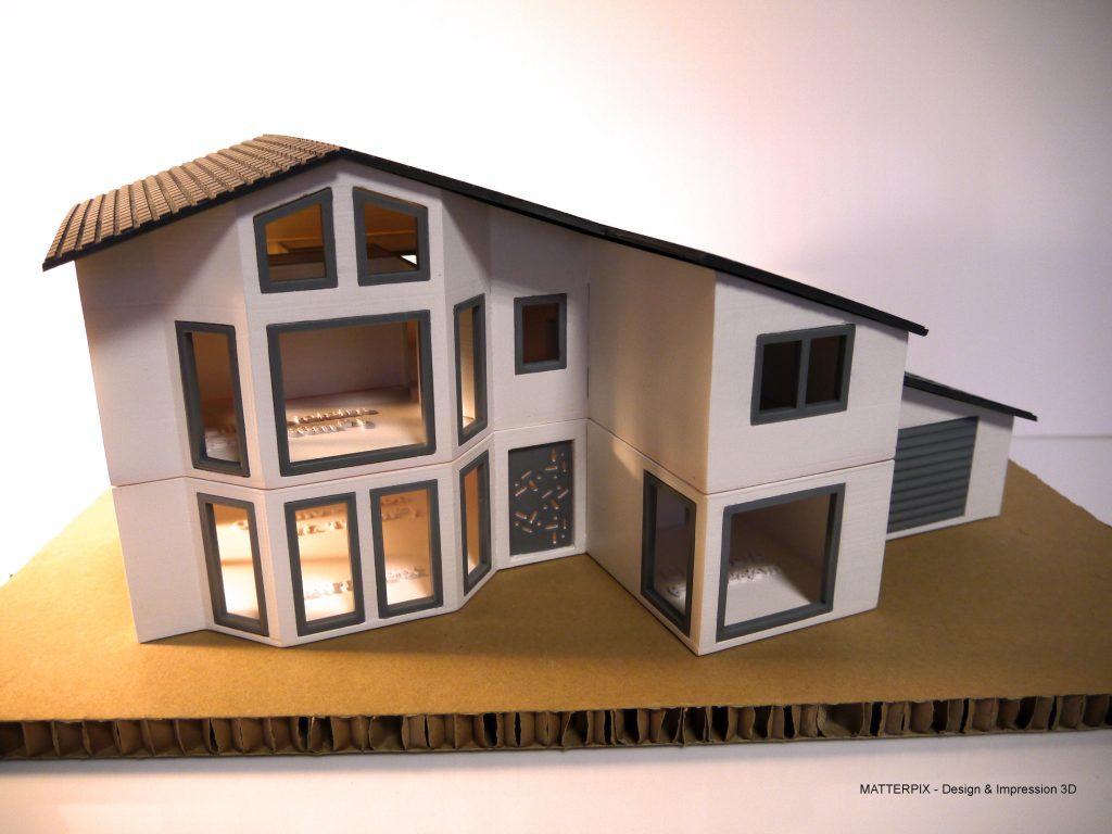 maquette architecture - impression 3D et decoupe laser - région Auvergne Rhone-Alpe, Clermont-Ferrand, Thiers, Vichy, Chamalières, Pont-du-Chateau, Saint-Etienne, Issoire, Brioude, Moulins