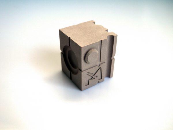 cube de contrôle 3D - pour vérifier les résultats de numérisation de votre scanner 3D