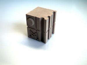 Cube de contrôle Matterpix pour scanner 3D (calibration ~20 à 100 mm)