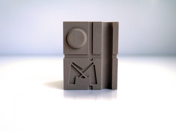 cube de contrôle pour scanner 3D