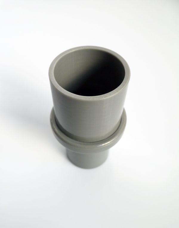 manchon de reduction sur mesure de 40 à 90mm - impression 3D