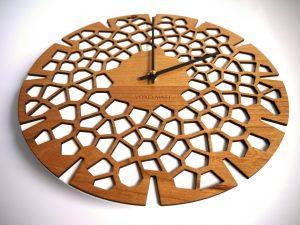 Horloge design volcano