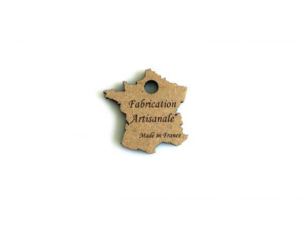 etiquette bois fabrication artisanale