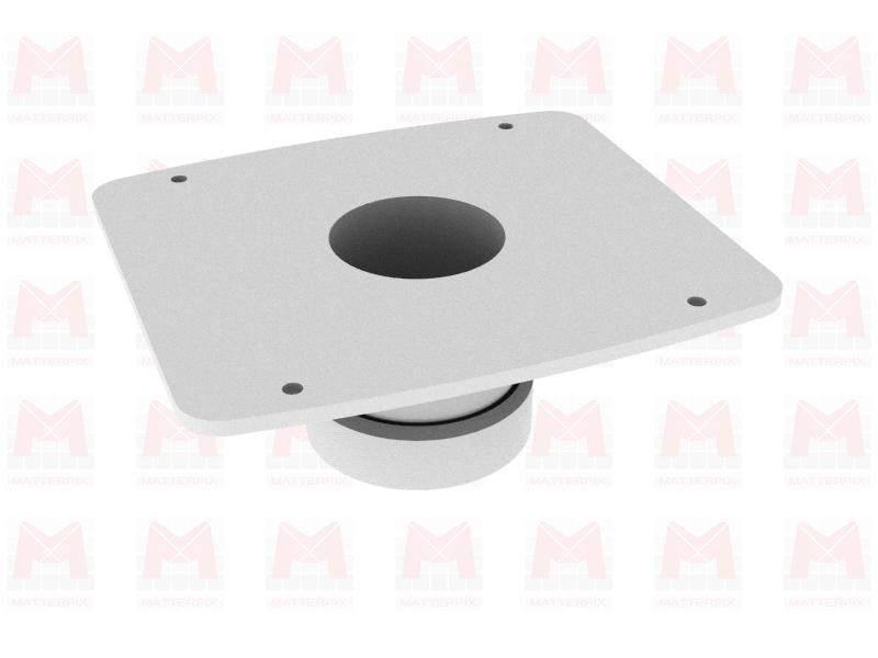 Fichier 3D / Embout évacuation poussières compatible scie à ruban Makita LB1200F (*)