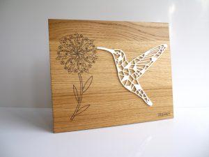 Tableau décoratif Colibri