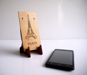 Support de smartphone pour bureau (modèle City personnalisable)
